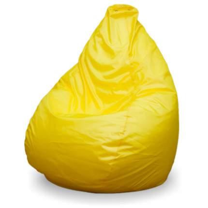 Кресло-мешок ПуффБери Груша Оксфорд XXL, желтый
