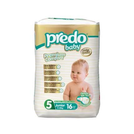Подгузники Predo Baby Экономичная пачка (16 шт.) № 5 (11-25 кг.) джуниор