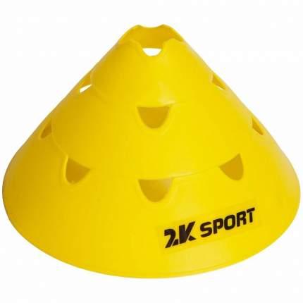 Конус тренировочный 2k Sport 127907 желтый