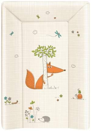 Матрац пеленальный Ceba Baby Fox ecru W-201-059-170