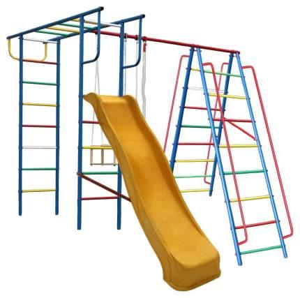 Детский спортивный комплекс Вертикаль-А1+П дачный с горкой 3 м