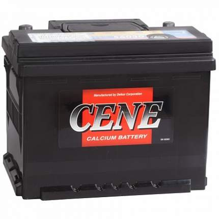 Аккумулятор CENE 56031 (60L 525A 242x175x190) 56031