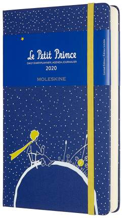 """Еженедельник датированный на 2020 год """"Le Petit Prince"""" Large, 144 страницы, синий"""