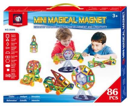 Магнитный конструктор Xinbida Мини-магический магнит, 86 деталей