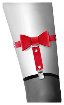 Гартер Bijoux Pour Toi с бантиком, красный