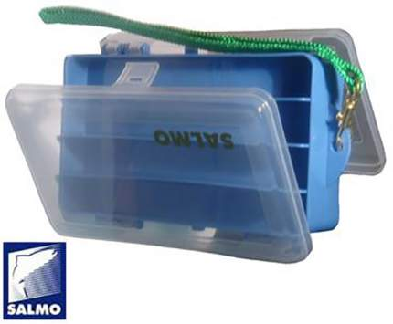 Рыболовная коробка Salmo Double Sided синяя 15,5 x 9,5 x 4,7 см