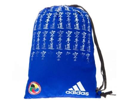 Спортивная сумка Adidas Satin Carry Bag Karate WKF синяя
