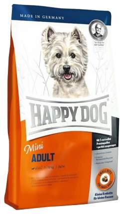 Сухой корм для собак Happy Dog Fit&Well Mini Adult, для мелких пород, птица, лосось, 0,3кг