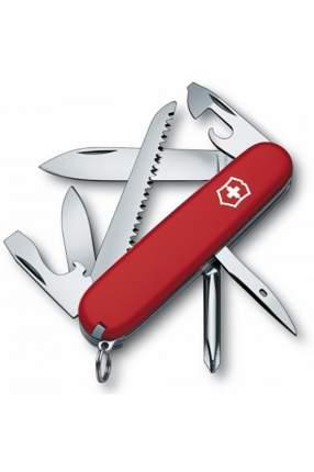 Мультитул Victorinox Hiker 1.4613 91 мм красный, 13 функций
