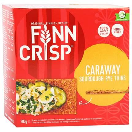 Сухарики Finn Crisp ржаные с тмином 200 г