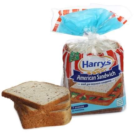 Хлеб Harry's американский сэндвич пшенично-ржаной 7 злаков 470 г