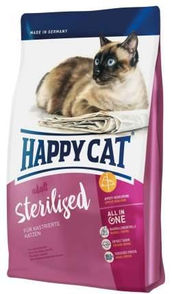 Сухой корм для кошек Happy Cat Sterilised, для стерилизованных, говядина, 0,3кг