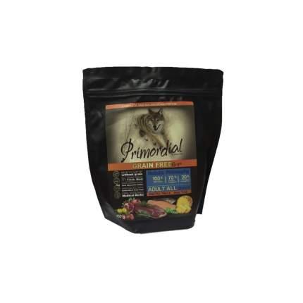 Сухой корм для собак Primordial Grain Free Adult All, форель, утка, 0.4кг