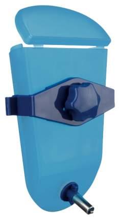 Поилка ниппельная с шариком для грызунов Felix, голубой, 500 мл