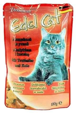 Влажный корм для кошек Edel Cat, индейка, утка, 20шт, 100г