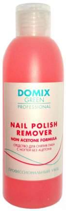 Жидкость для снятия лака Domix Green Professional Nail Polish Remover 200 мл