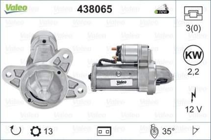 Стартер Valeo 438065