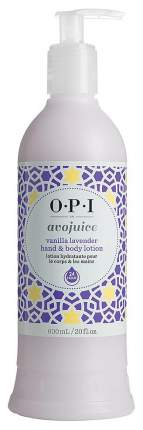 Лосьон для рук O.P.I Avojuice Vanilla&Lavender 600 мл