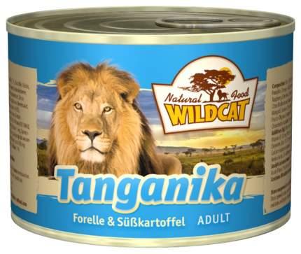 Консервы для кошек Wildcat, рыба, 200г