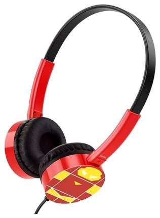 Наушники Hoco W15 Guardian Knight Iron man Red/Black