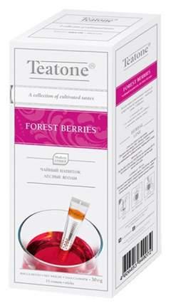 Напиток чайный Teatone forest berries лесные ягоды в стиках 15 пакетиков