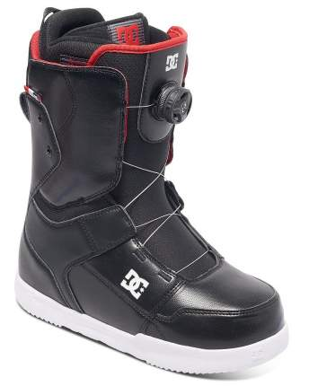 Ботинки для сноуборда DC Scout 2017, black, 29.5