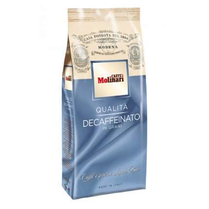 Кофе в зернах Molinari decaffeinato 500 г