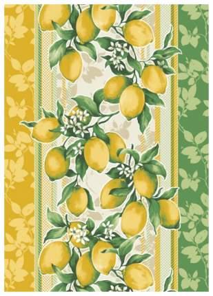 """Полотенце вафельное """"Сицилия"""" с лимонами"""