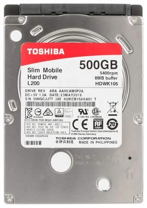Внутренний жесткий диск Toshiba L200 500GB (HDWK105UZSVA)