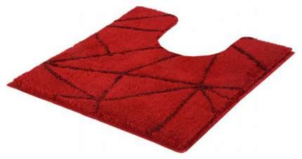 Коврик для туалета Kleine Wolke Nizza 55х50, 100% полиакрил, Темно-красный