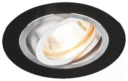 Встраиваемый точечный повортный светильник Elektrostandard 1061/1 MR16 BK Черный a036413