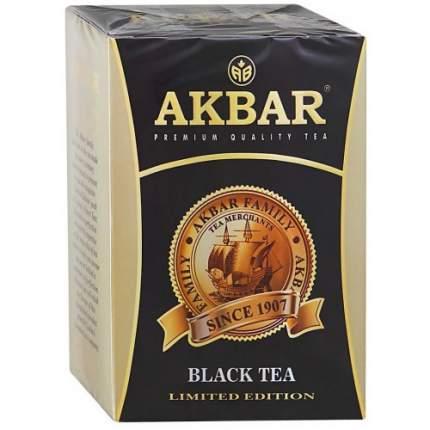 Чай черный листовой Akbar limited edition с медалью 200 г