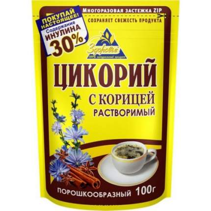 Цикорий Здоровье корица 100 г