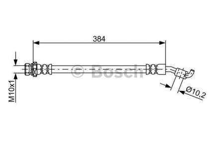 Шланг тормозной системы Bosch 1 987 481 884