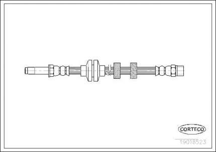 Шланг тормозной системы CORTECO 19018523