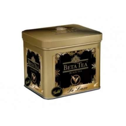 Чай черный листовой Beta Tea  де люкс золотой 100 г