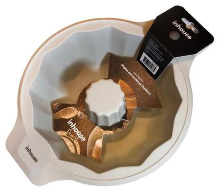 Форма для выпечки Inhouse IHCHARM04 Серый