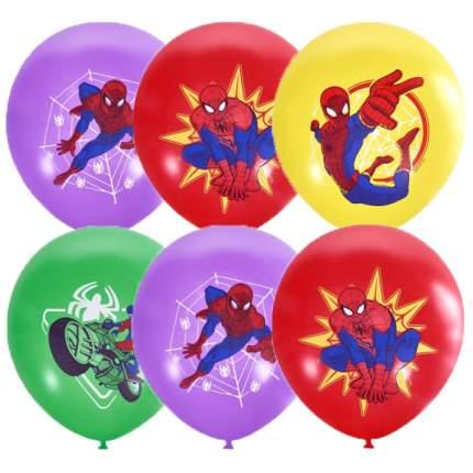 Воздушные шарики Latex Occidental 30 см Пастель и декоратор Марвел Цветной Человек-Паук