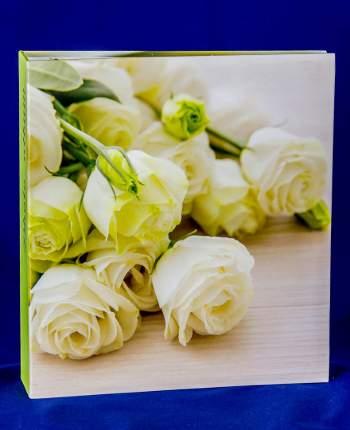 """Фотоальбом """"Розы жёлтые"""" на 100 магнитных страниц, 23х28 см"""