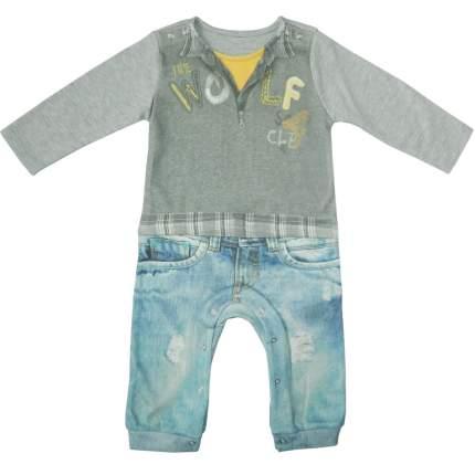 Комбинезон Папитто для мальчика Fashion Jeans 554-01 р.24-80