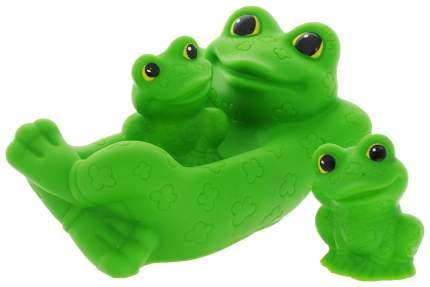 Игрушка для купания Огонек Лягушка с лягушатами