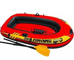 Лодка Intex Explorer Pro 200 Set 1,96 x 1,02 м orange
