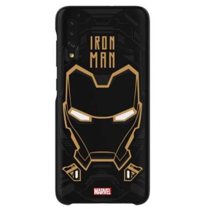 Чехол Samsung Marvel IronMan для Galaxy A70, Black