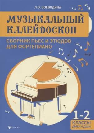 Книга Музыкальный калейдоскоп: сборник пьес и этюдов для фортепиано: 1-2 классы Д...