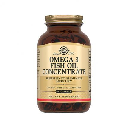 Solgar Концентрат рыбьего жира Омега-3 капсулах №60 (БАД)
