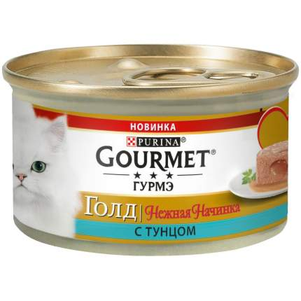 Консервы для кошек Gourmet Gold, рыба, 85г