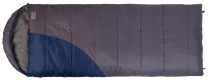 Спальный мешок Trek Planet Warmer Comfort темно-серый/темно-синий, правый