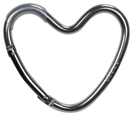 Крепление Dooky-Xplorys для сумок Dooky Heart Hook Серебристое