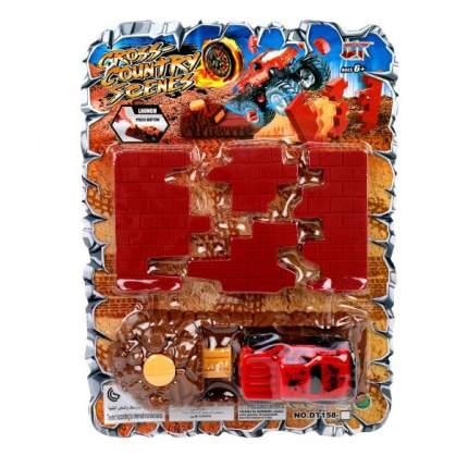 Автотрек Наша игрушка Разрушитель стен DT158-11