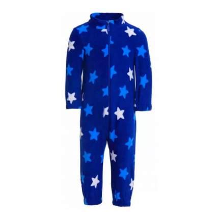 Комбинезон Физкультурник , 104 р-р, Узор звезды гол. + бел. син. фон